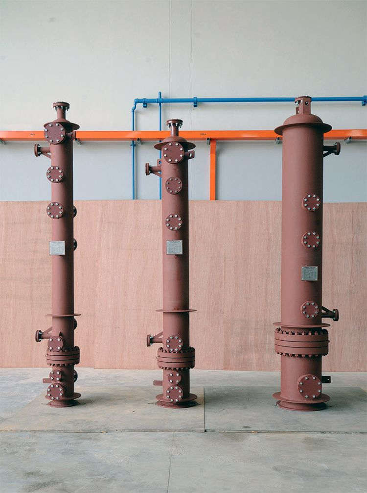 Supercritical Fluid Heaters